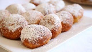 Custard Cream Filled Donuts Ponchiki Пончики Doughnuts Recipe - Heghineh.com