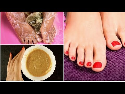 How to clean and whiten your feet  | Instant Feet Whitening Pedicure for spotless bright feet | RSC