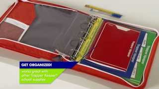 NEW! Trapper Keeper­® Sewn Zipper Binder