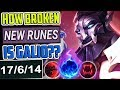HOW BROKEN IS NEW RUNES GALIO? 950+ AP | BEST GALIO NEW RUNES TOP BUILD | SEASON 8 League of Legends