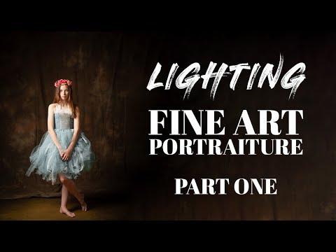 FINE ART PORTRAITURE | How to Light PART 1