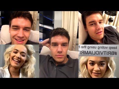 Liam Payne & Rita Ora | Instagram Live Stream | 12 February 2019