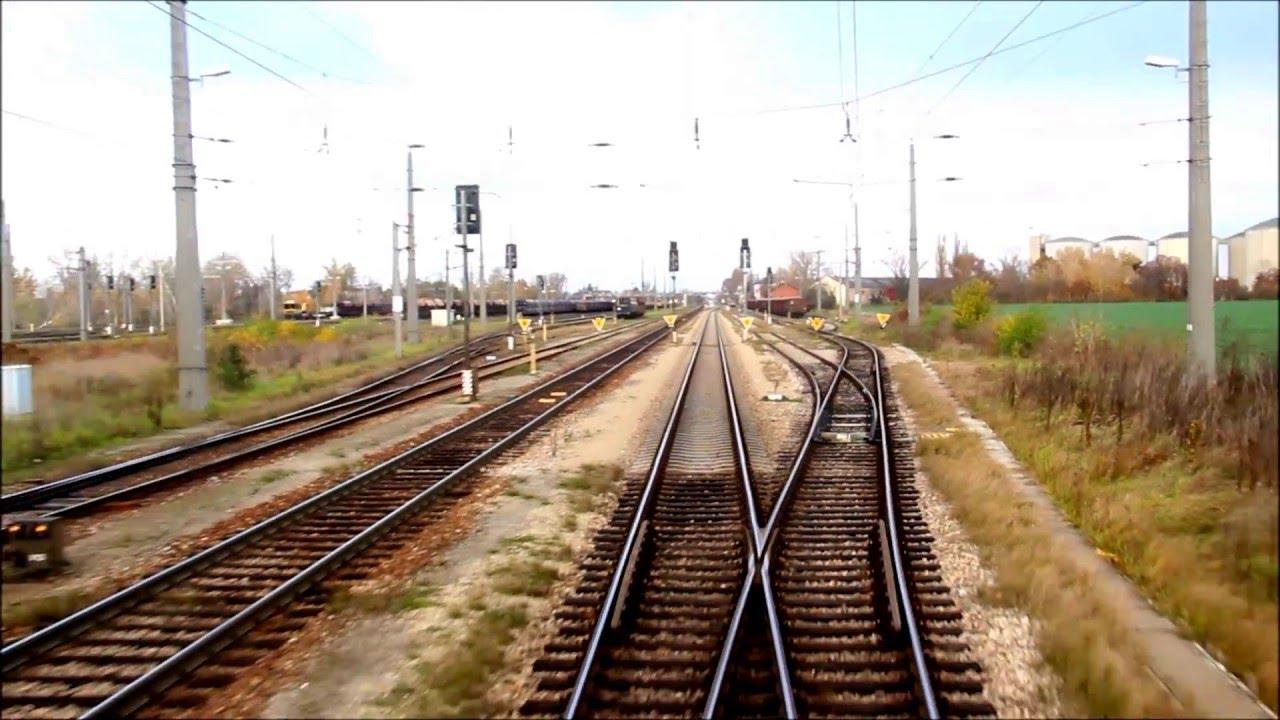 Nordbahn: Mitfahrt EC 103 Břeclav - Deutsch Wagram