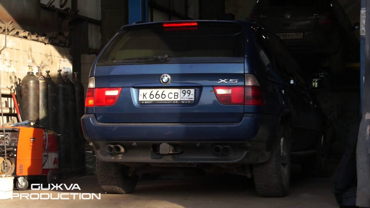 Bmw X5 E53 M62b44 Exhaust Tuning Youtube
