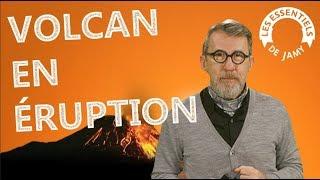 COMMENT UN VOLCAN ENTRE-T-IL EN ÉRUPTION ? - Les essentiels de Jamy