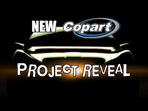 New Project Car from Copart Auction
