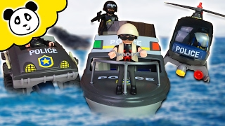 ⭕ PLAYMOBIL Polizei - SWAT Mega Pack - Spielzeug auspacken & spielen - Pandido TV