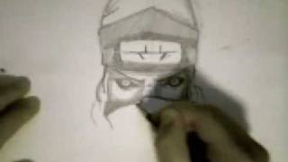 How to Draw Kakuzu