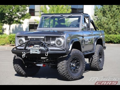 mainly muscle cars test drive 1968 ford bronco youtube. Black Bedroom Furniture Sets. Home Design Ideas