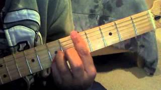 """How To Play """"The Strokes - Someday"""" Intro Riff Tutorial WITH TABS"""