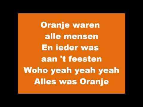 De Hits van Oranje - Alles is Oranje (Frizzle Sizzle & Jack van Gelder)