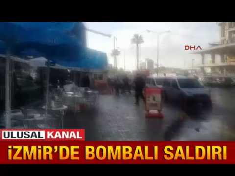 İzmir'de bombalı saldırı - 05.01.2017