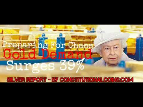 UK Citizens Pour Into Gold! Brexit Triggered! Prepping Silver For Economic Collapse