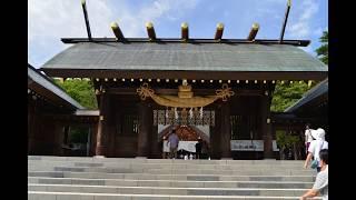 北海道神宮の写真を取り入れました。ダニーボーイをテナーサックスで演...
