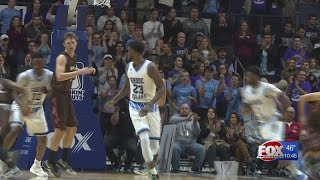 #21 Rhode Island Holds Off Brown, 79-72