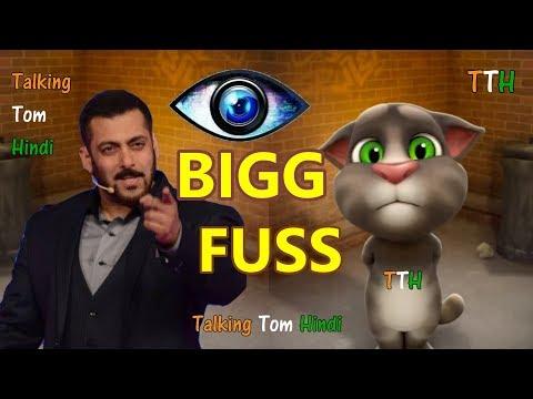Talking Tom Hindi - BIG BOSS Funny Comedy - Talking Tom Funny Videos