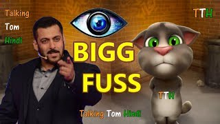 Talking Tom Hindi - BIG BOSS Funny Comedy - Talking Tom Funny Videos