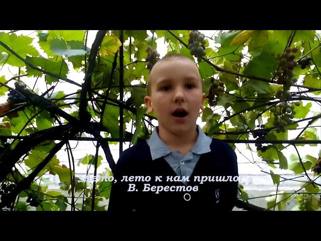 Изображение предпросмотра прочтения – ГеоргийДмитриев читает произведение «Лето, лето к нам пришло!» В.Д.Берестова