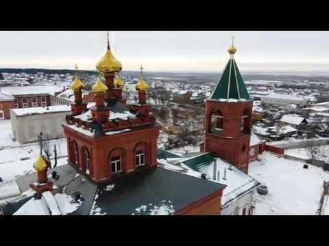 Южноуральск с высоты 4K UHD 31 декабря 2018