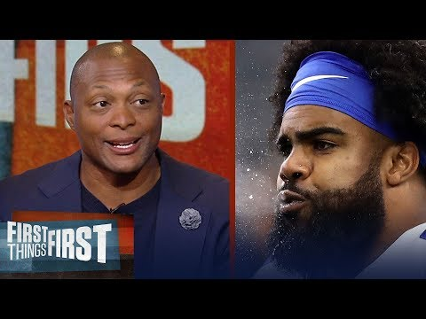 Eddie George on Zeke's frustration in Dallas, Dak Prescott's stuggles   NFL   FIRST THINGS FIRST