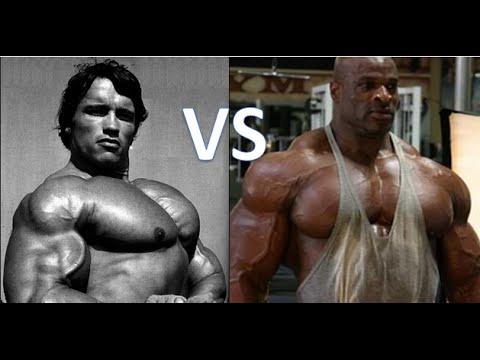 Ronnie Coleman Vs Arnold BUILD A BIG CHEST: Arn...