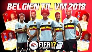 BELGIEN TIL VM 2018!! - FIFA 17 Ultimate Team (DANSK)