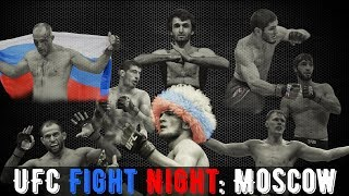 UFC Fight Night: Moscow — Promo
