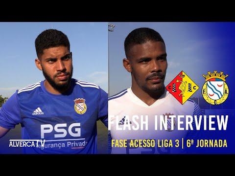 Condeixa 1-1 FC Alverca | Flash Interview