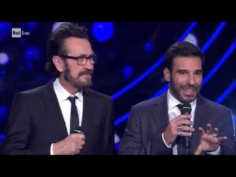 Edoardo Leo, Marco Giallini e i modi di dire in romanesco - Sanremo Giovani 21/12/2018