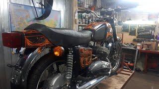 #ижневлом Гаражная сборка мотоцикла Иж Юпитер