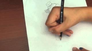 Как рисовать Дракулауру Дау от зе денс (1часть)(В этом видео вы увидите как нарисовать Дракулауру из коллекции Дау он зе денс., 2015-08-16T12:17:13.000Z)