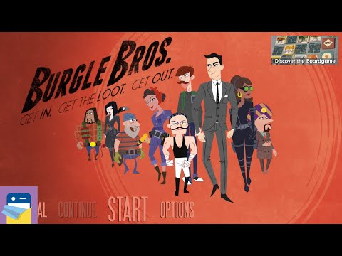 Burgle Bros: iOS iPad Gameplay (by Fowers games Inc.)