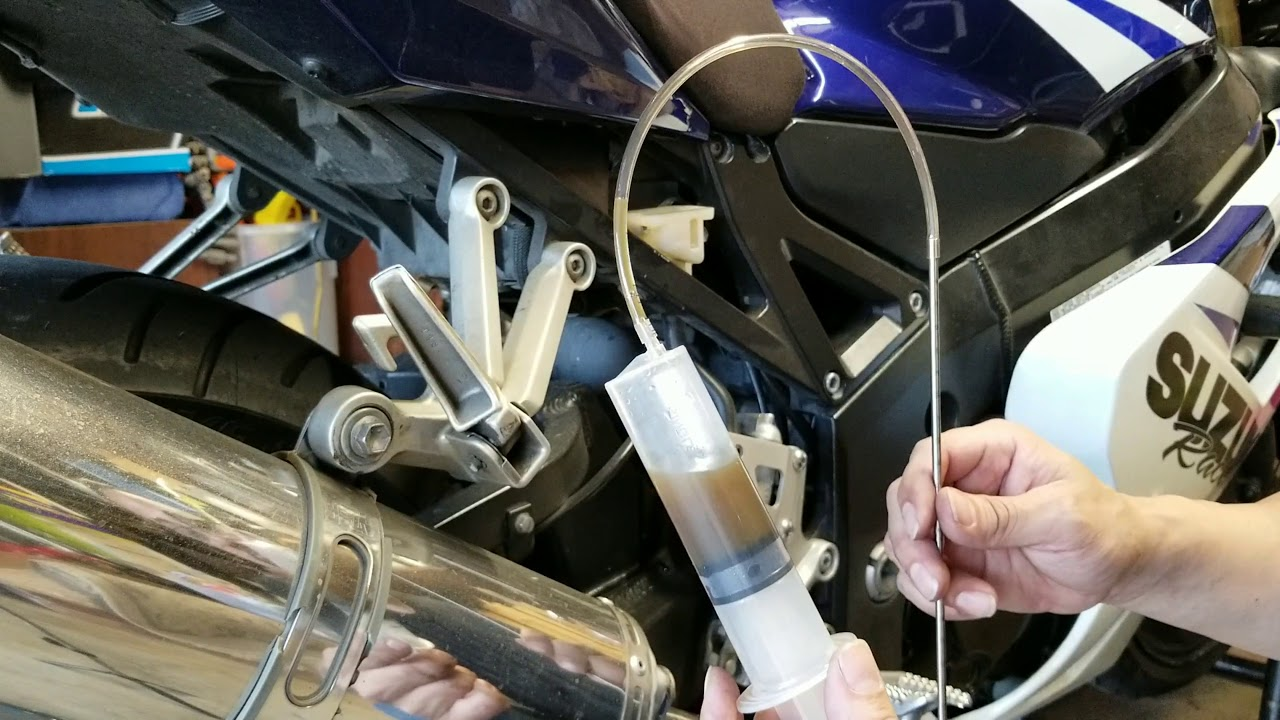 How To Change Brake Fluid >> How To Change Your Motorcycle Rear Brake Fluid