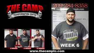 Modesto Weight Loss Fitness 12 Week Challenge Results - Trevor Waldroup