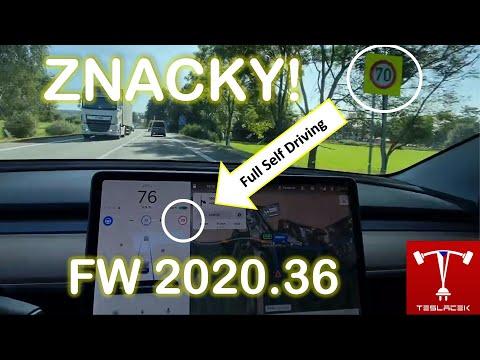 #219 Tesla OS FW 20.36 | Teslacek