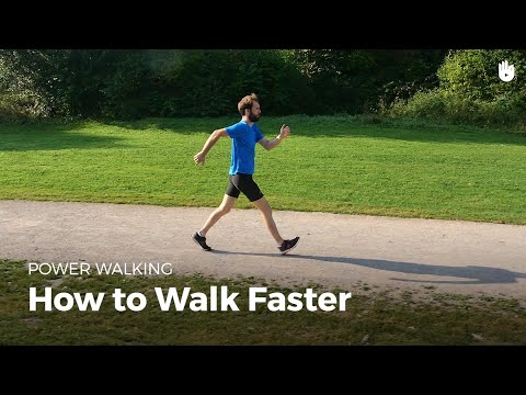 How to Walk Faster | Power Walking