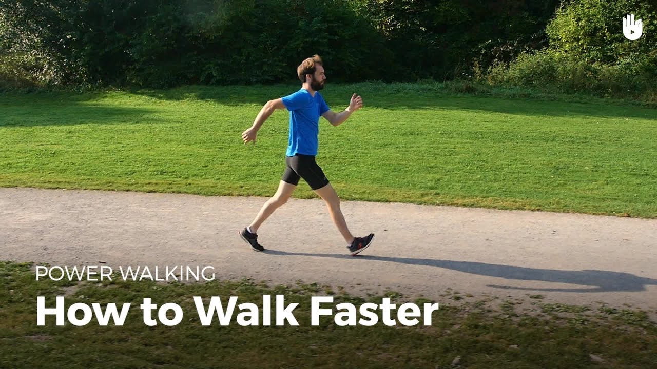 How to Walk Faster | Power Walking - YouTube