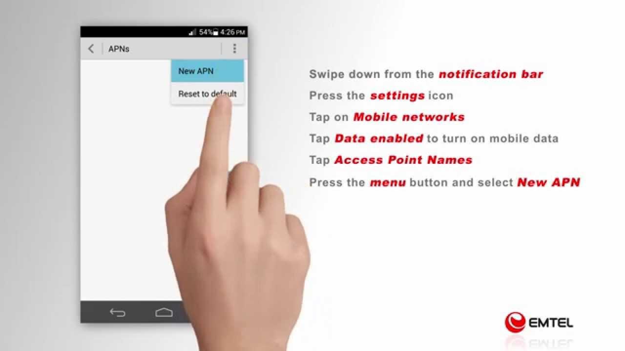 Mobile Internet - EMTEL