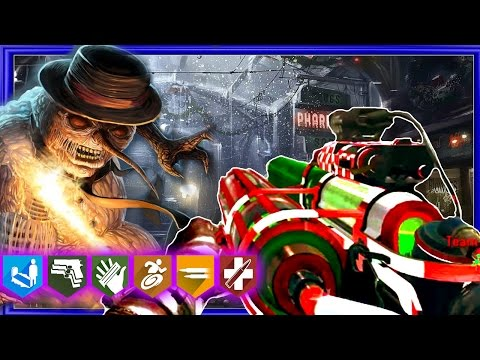 ESCAPE SANTA'S GROTTO! CHRISTMAS ZOMBIES EASTER EGG! CALL OF DUTY ZOMBIES!