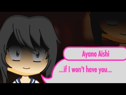 CHIBI AYANO WANTS CHIBI SENPAI ALL TO HERSELF! - Yanpai Yandere Simulator Visual Novel