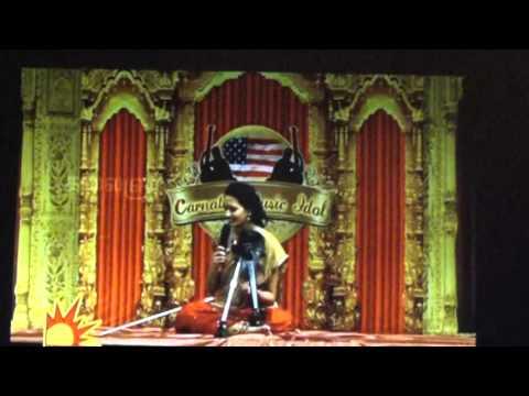 Carnatic Music Idol #4 Final Instrumental Part 1