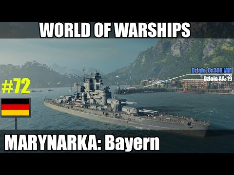 World of Warships - Bayern VI tier gameplay pl