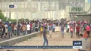 التلفزيون العربي | مظاهرات في شمالي قطاع غزة دعما للإنتفاضة في القدس المحتلة والضفة الغربية