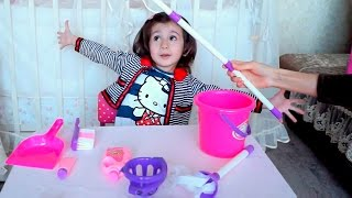 Детский набор для уборки дома. Седа ТВ / Children set for cleaning the house. Seda TV