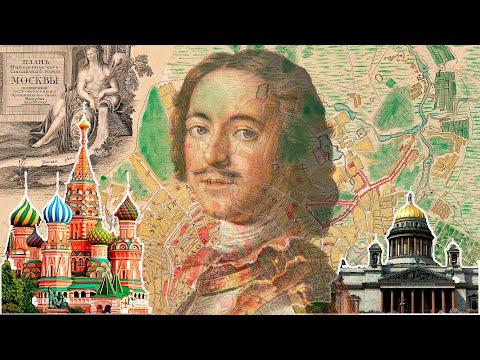 Две столицы. Загадка переноса столицы Петром 1 в Санкт-Петербург.
