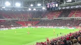 21.10.2018 Спартак - Арсенал Тула [1:0] гол Зе Луиш