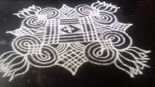 Varamahalakshmi rangoli   Varalakshmi Vratham muggulu   Sudha Balaji kolam