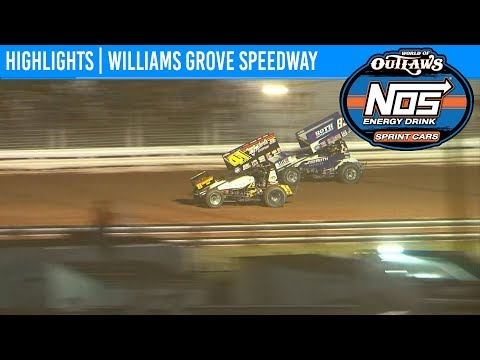 World of Outlaws NOS Energy Drink Sprint Cars Williams Grove Speedway May 17, 2019 | HIGHLIGHTS