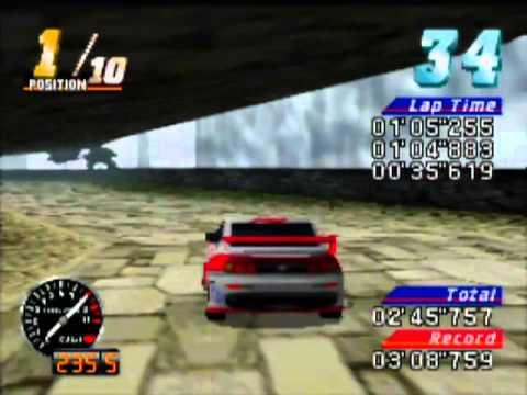 MRC: Multi-Racing Championship Game Sample – N64