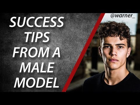 Success Tips From A Male Model (Louie Warner)